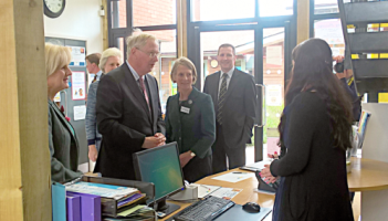 HRH the Duke of Gloucester at HOPE