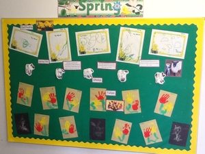 spring display board